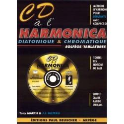 CD à L´harmonica + CD - diatonique & chromatique