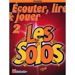 Ecouter lire & jouer 2 - Solos - Clarinette