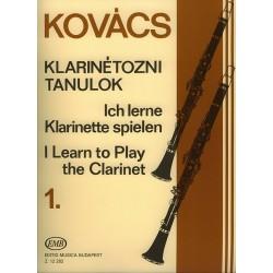 Ich lerne Klarinette spielen 1 - Clarinette