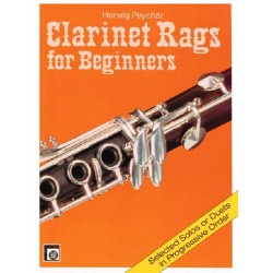 Clarinet Rags for Beginners  - Clarinette