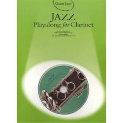 Guest spot + CD - Jazz playalong - clarinette