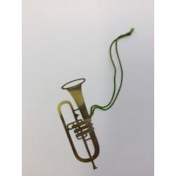 suspension décorative cornet/trompette/bugle