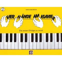 4 Hände am Klavier Vol 2 - Bodenmann