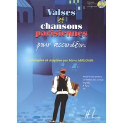 Valses et chansons parisiennes + CD