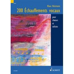 200 Echauffements vocaux