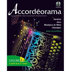 Accordéorama 1A - 18 Titres + CD