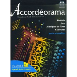 Accordéorama 2A - 20 Titres + CD
