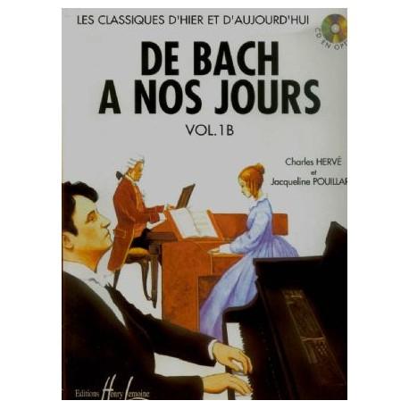 De Bach a nos jours Vol 1B - Piano