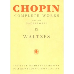 Valses Chopin - Complete Works 9 - Piano