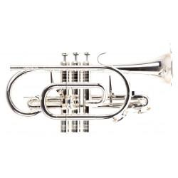 Cornet sib GENEVA Symphony avec trigger - Argenté