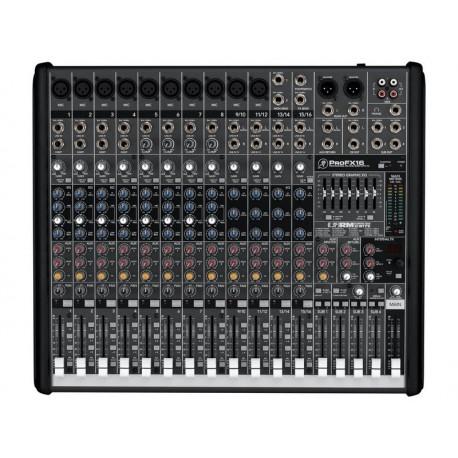 Table de Mix MACKIE Pro FX-16 V2