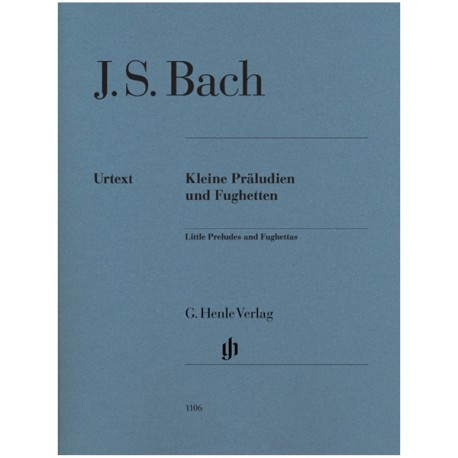 Petits Preludes & Fugues - Bach - Piano