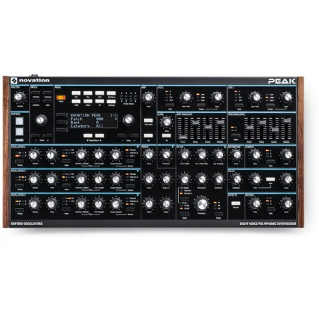 NOVATION Peak - Eight-voice polyphonic synthesiser