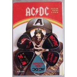 Plectres AC/DC 2 (6 pces)