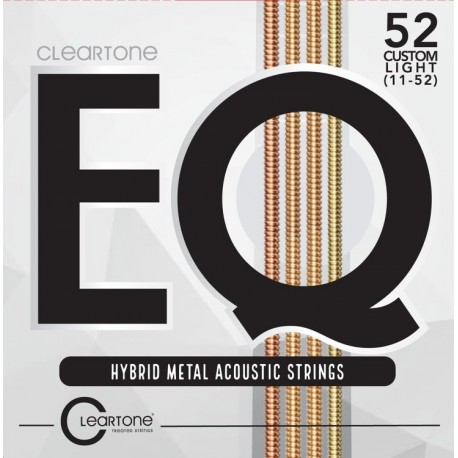 Cordes Cleartone EQ Hybrid Metal Acoustic 11-52 Cust. Light