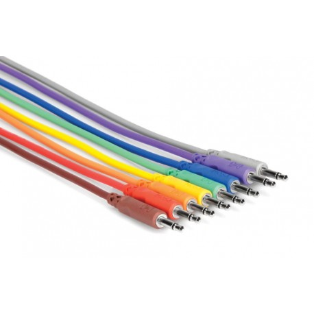 Hosa CMM-845 - Patch Cables mini jack - 8pcs, 45cm