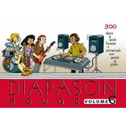 Diapason Rouge - Volume 6 - Paroles et accords