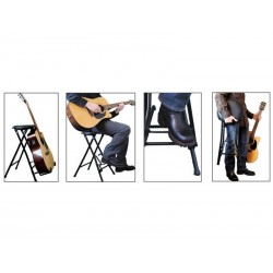 Stand guitare + Siège Stageplayer