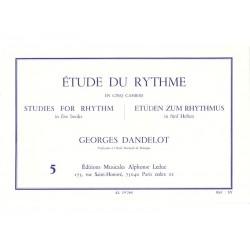 Etude du Rythme 5 - Dandelot