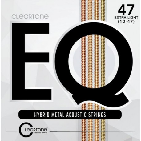 Cordes Cleartone EQ Hybrid Metal Acoustic 10-47 extra light