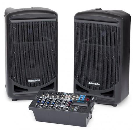 SONO Samson XP800B + mixer 2×400Watt