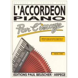 Accordéon piano par l´image