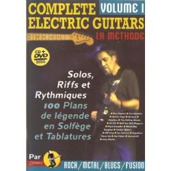 Méthode Complète electric guitars + CD + DVD