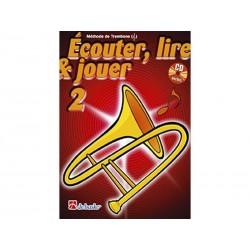 Ecouter, Lire & Jouer Trombone 2 - Clé Sol