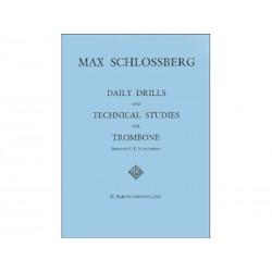 Daily Drills & Studies - Trombone - Schlossberg Max
