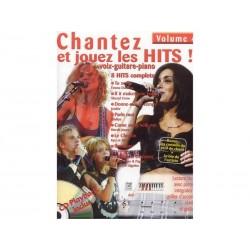 Chantez et jouez les hits! + CD - Volume 4