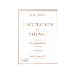 Invitation au voyage - Piano+Voix Mezzo