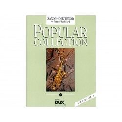 Popular Collection Vol 1 - Sax ténor + Piano
