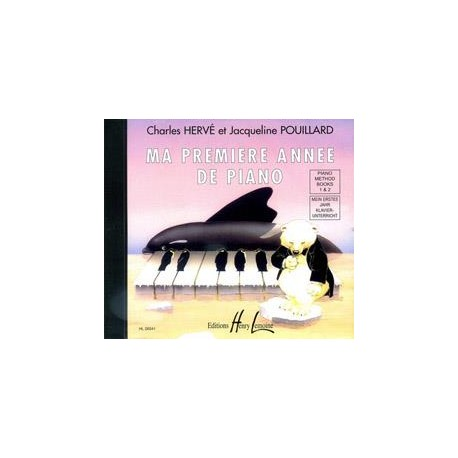 Ma première année de piano - Le CD