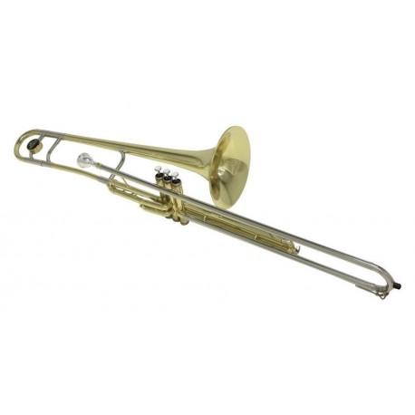Trombone Sib à Pistons BACH VT501 - Verni