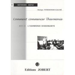 Comment commencer l'harmonie Vol.2