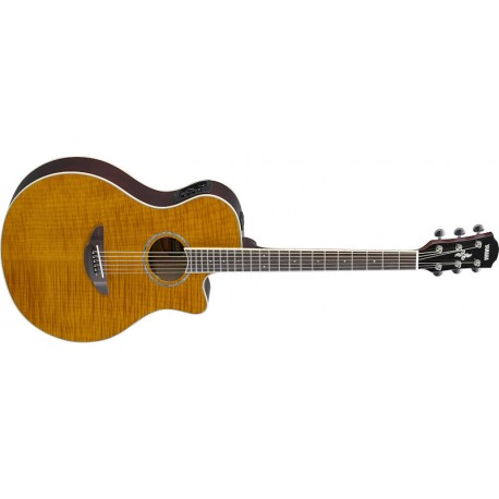 YAMAHA APX600 - Flamed Maple Amber - Limided Edition