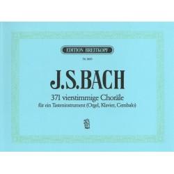 371 Chorales BACH - Piano