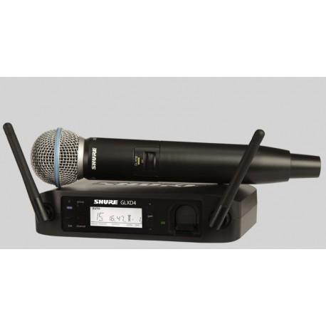 SHURE Beta 58 GLX-D - Digital micro sans fil