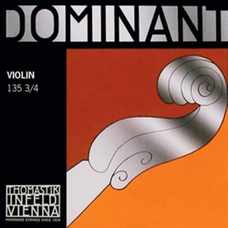 Cordes 3/4 DOMINANTE Violon - Jeu complet