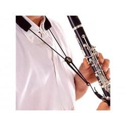 Cordon pour clarinette Sib - cuir