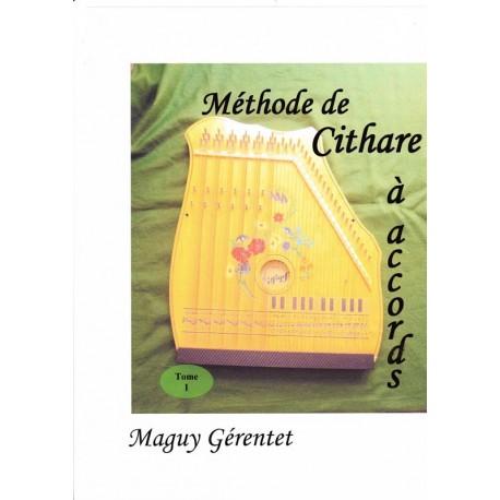 Méthode de cithare à accords - Maguy Gérentet