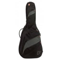 Housse Guitare Acoustique FUSION F2 Noir/Gris
