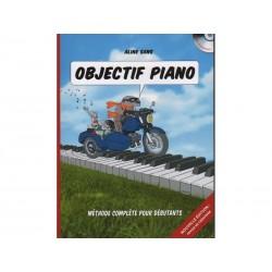 Objectif Piano + CD - Méthode