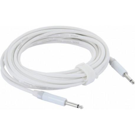 Câble Jack Neutrik/Cordial, 6m Blanc