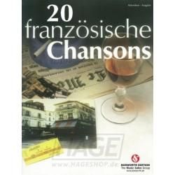 20 Französische Chansons - Accordéon