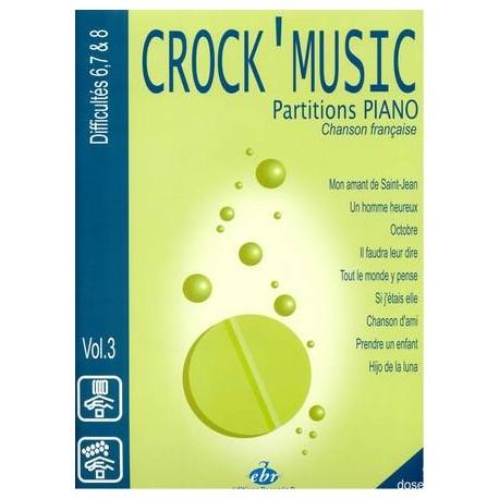 Crock'Music Vol.3 - Chanson Française