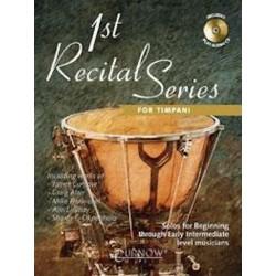 1st Recital Series for Timpani