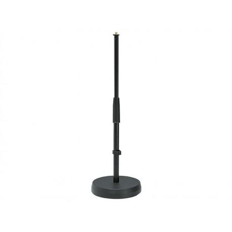 Pied de micro de table Ø18cm H 35-58cm