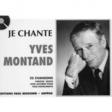 Yves Montand - je chante - 25 chansons