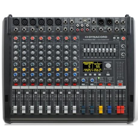 DYNACORD PowerMate 600-3 - Table de mixe amplifiée
